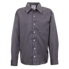Schooltex Kids' Closed Front Winter School Shirt Full Button