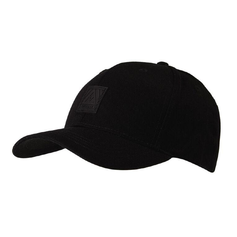 H&H Men's Surf Texture Cap, Black, hi-res