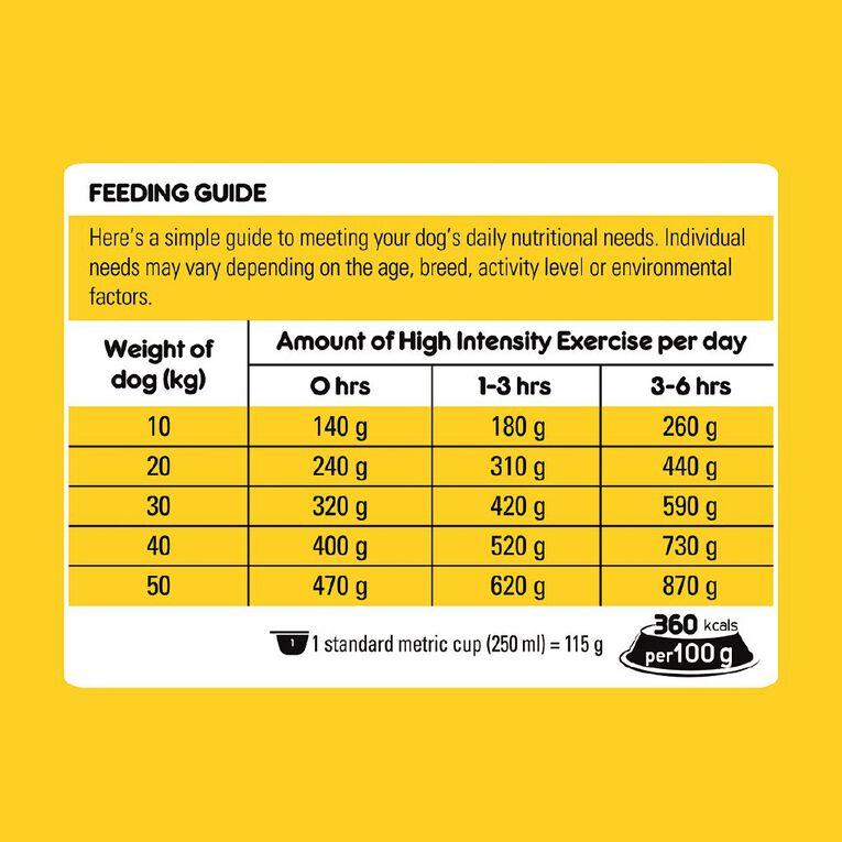 Pedigree Working Dog Formula Dry Dog Food With Real Beef 20kg Bag, , hi-res