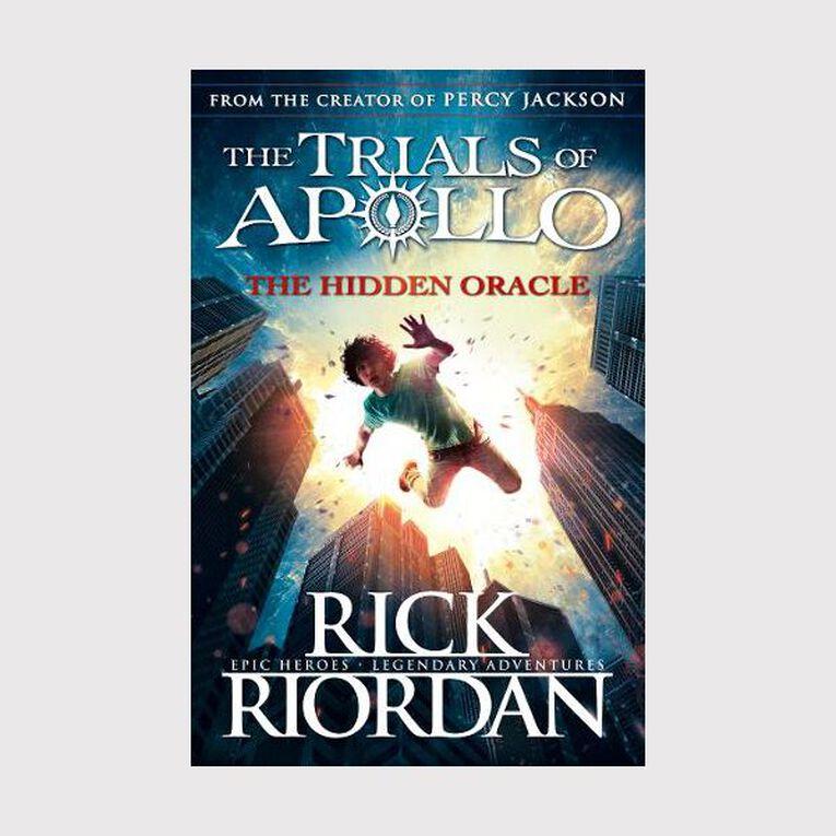 Hidden Oracle: The Trials of Apollo (Book 1) by Rick Riordan, , hi-res