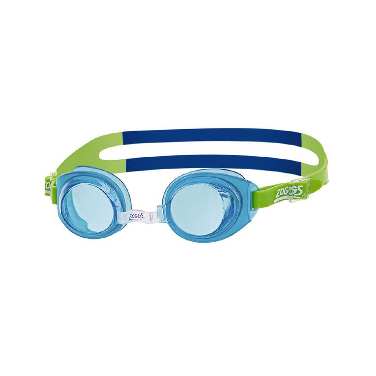 Zoggs Swimming Goggles Little Ripper Blue, , hi-res