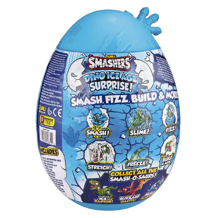 Zuru Smashers Dino Ice Age Series 3 Large Egg Assorted, , hi-res
