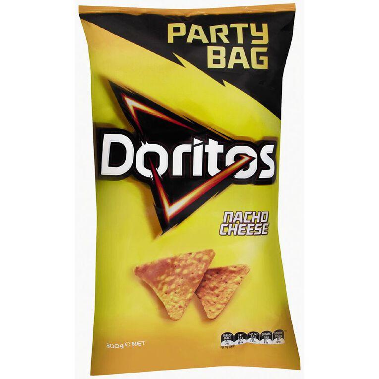 Doritos Nacho Cheese Party Bag 300g, , hi-res