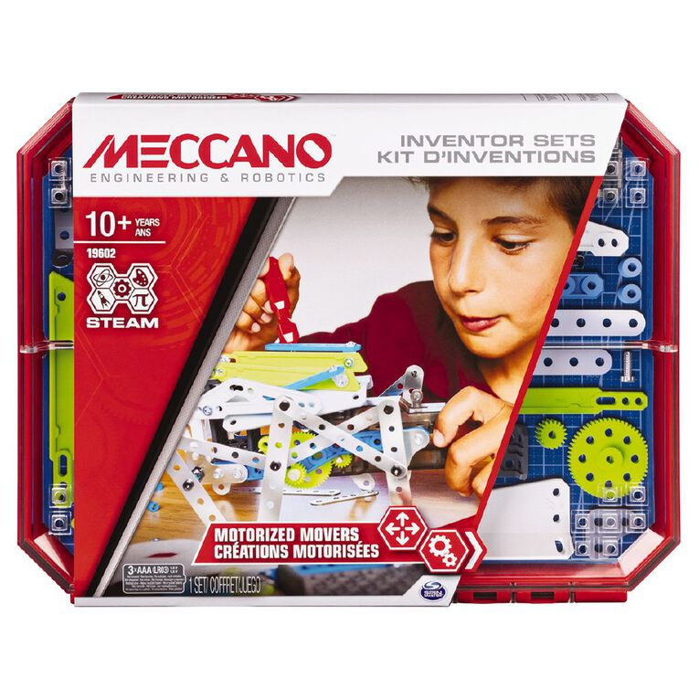 Meccano Inventor Set 5 Motorized Movers, , hi-res