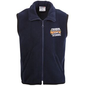 Schooltex Churton School Vest with Embroidery