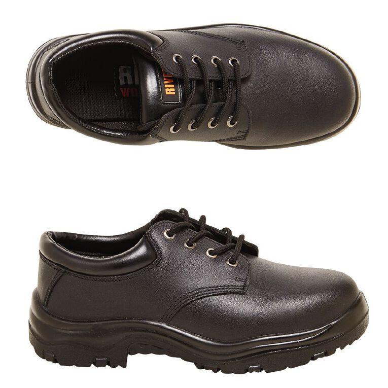 Rivet Otieno Work Shoes, Black, hi-res image number null