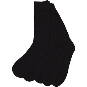 H&H Men's Crew Socks 5 Pack