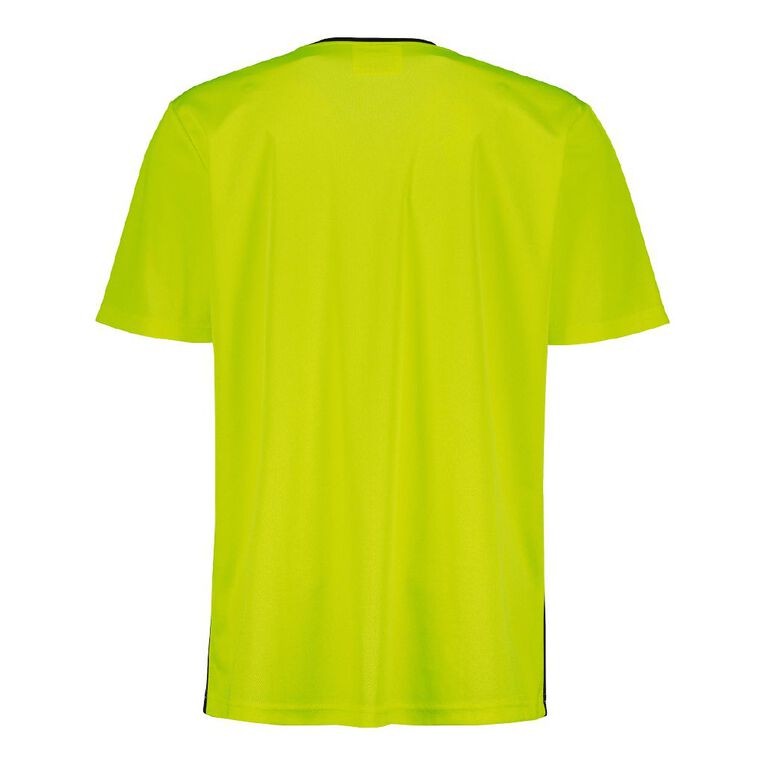 Rivet Compliant Short Sleeve Fluoro Tee, Yellow, hi-res image number null