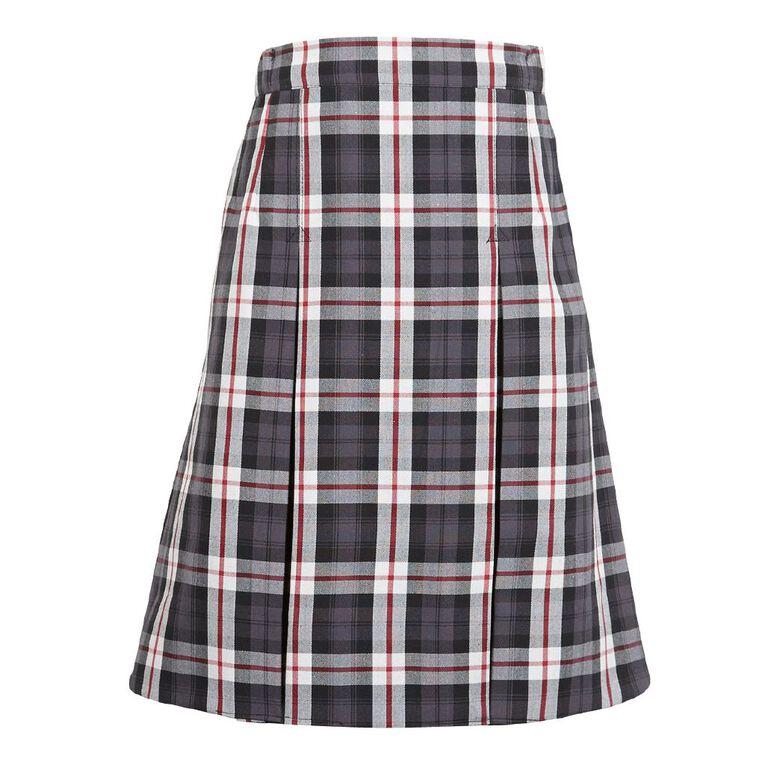 Schooltex Two Pleat Skirt, Schooltex Tartan TRT003, hi-res
