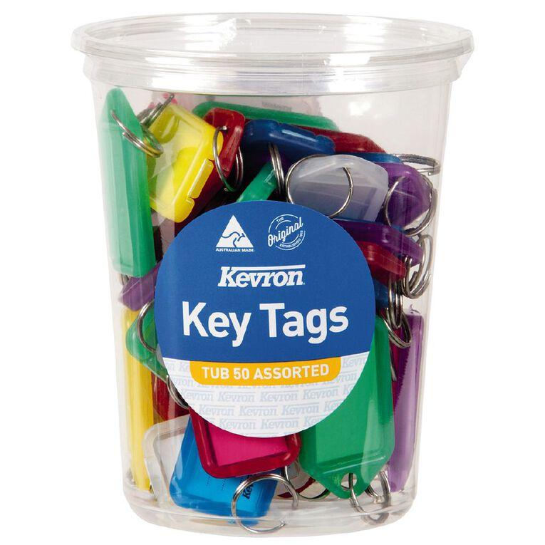 Kevron ID5 Key Tags Assortment 50 Pack, , hi-res