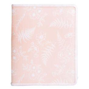 Uniti Kiwi Breeze Folder Zipped All Over Print Floral Green