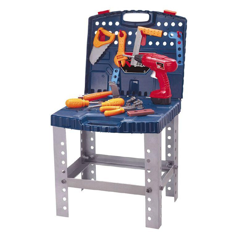 Play Studio Tool Bench Play Set 50 Pieces, , hi-res