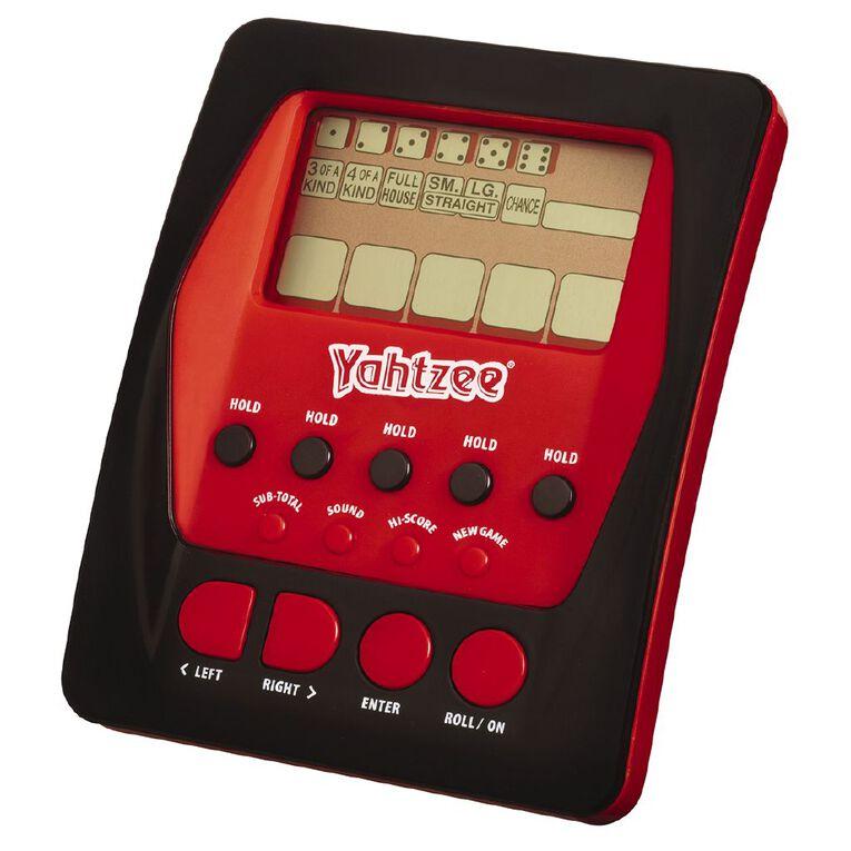 Yahtzee Electronic Hand Held Game, , hi-res