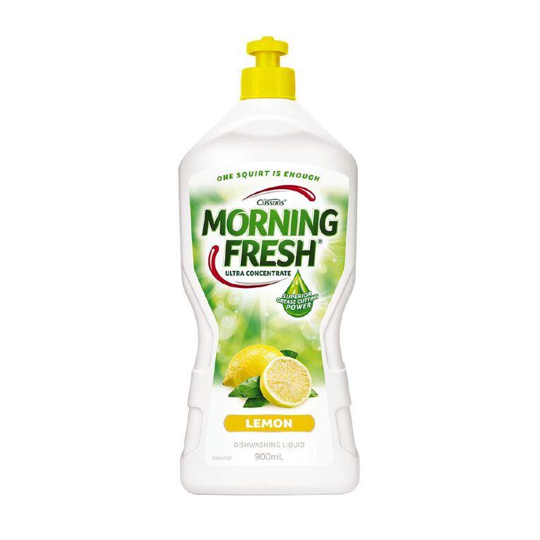 Morning Fresh Dishwash Liquid Lemon 900ml, , hi-res