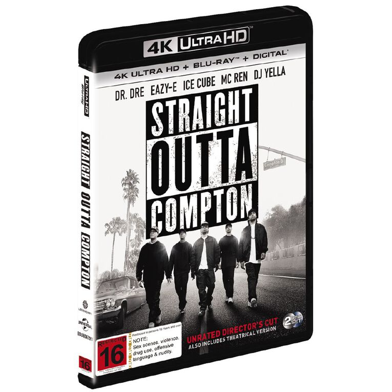 Straight Outta Compton 4K Blu-ray 2Disc, , hi-res