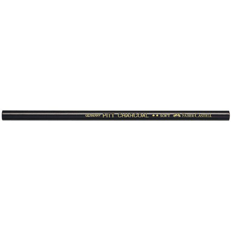 Faber-Castell Pitt Charcoal Pencil Soft, , hi-res