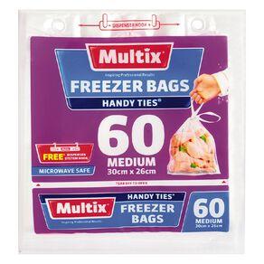 Multix Multix Freezer Bags with handles medium 60s