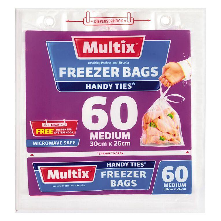 Multix Multix Freezer Bags with handles medium 60s, , hi-res