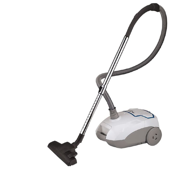 Living & Co Vacuum Bagged 2200w White / Teal, , hi-res