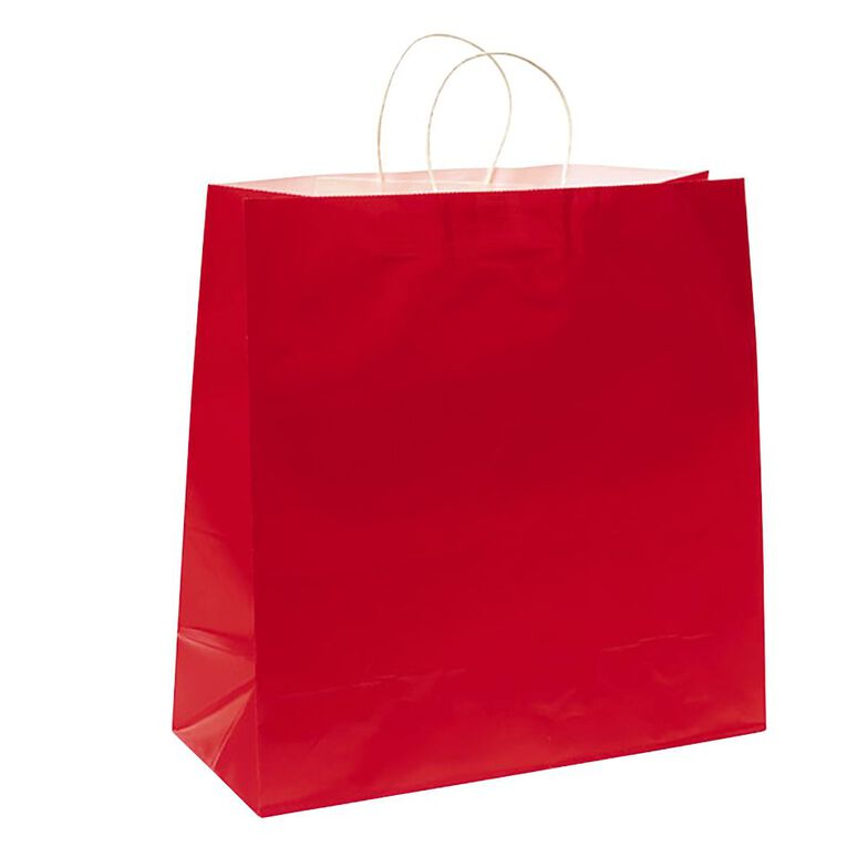 John Sands Gift Bag Red Jumbo, , hi-res