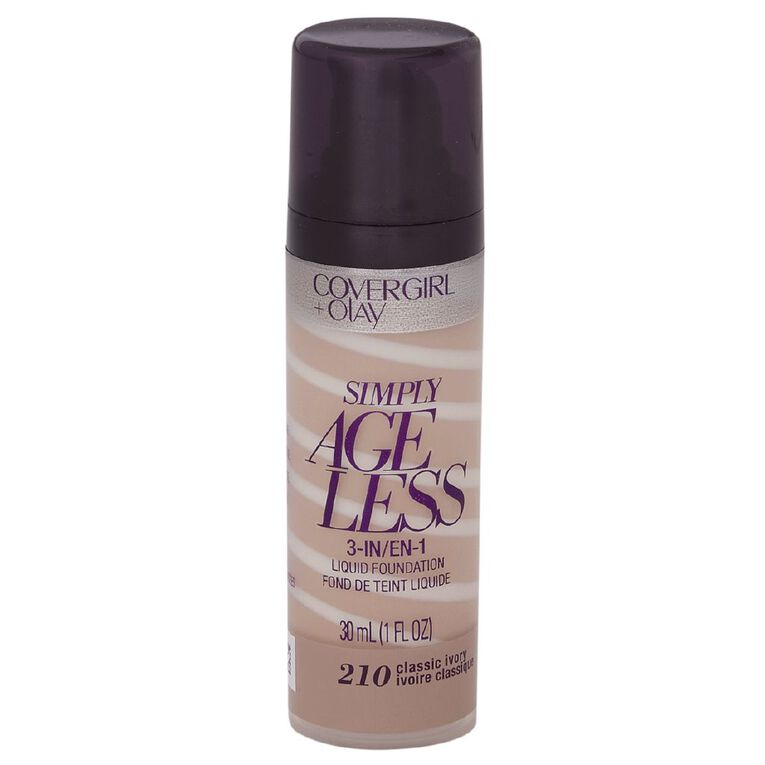 Covergirl +Olay Simply Ageless 3-in-1 Foundation Classic Ivory 210, , hi-res