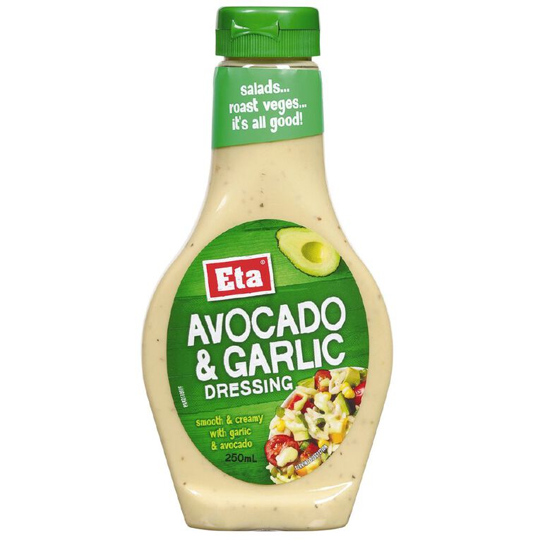 Eta Avocado and Garlic Dressing 250ml, , hi-res