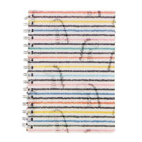 Kookie Chomp Lenticular Notebook Dinosaur White A5