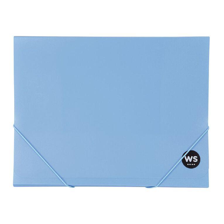 WS Wallet PP Elastic Blue A4, , hi-res