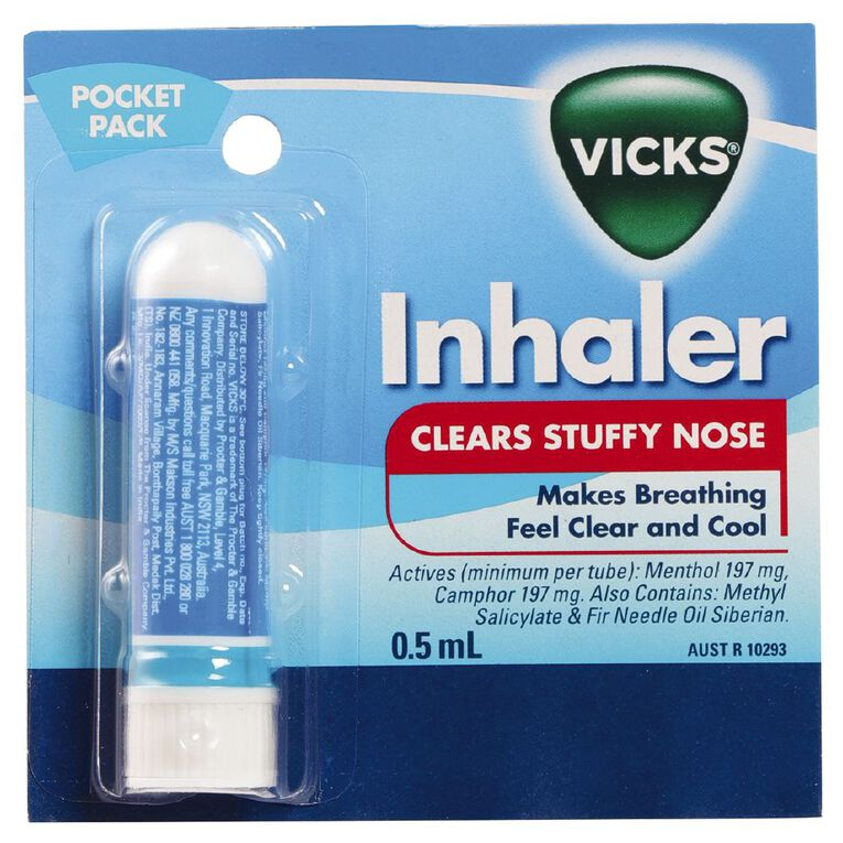 Vicks Inhaler 0.5ml, , hi-res