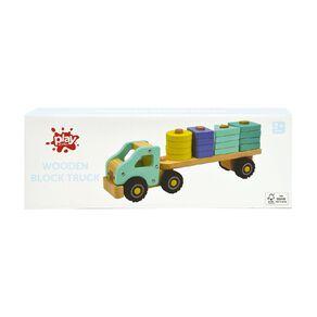 Play Studio Wooden Block Truck