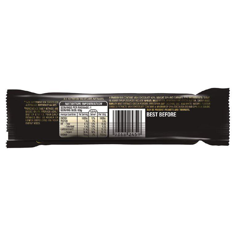 Mars Chocolate Bar 53g, , hi-res
