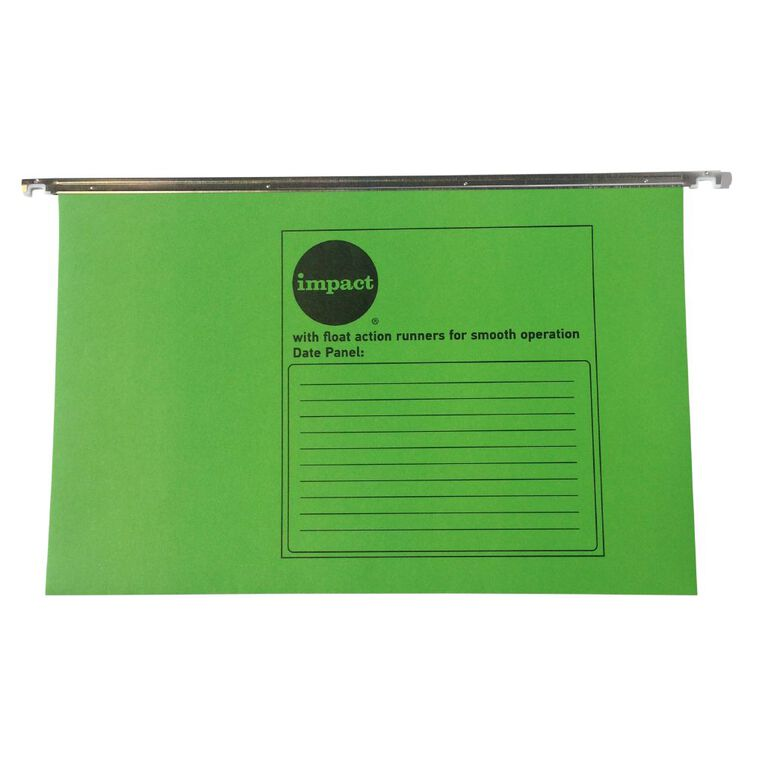 WS Suspension File 10 Pack Bright Green, , hi-res