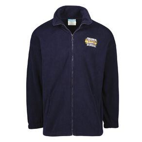 Schooltex Churton School Zip-Thru Polar Fleece Top with Embroidery