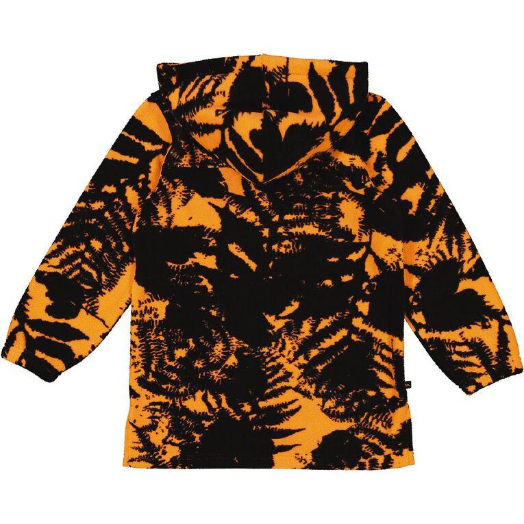 Back Country Microfleece Hooded Sweatshirt, Orange, hi-res