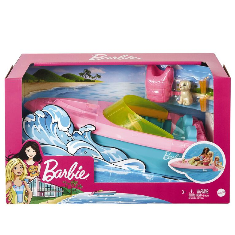 Barbie Estate Boat Refresh, , hi-res