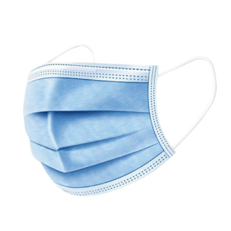 Maxcare Disposable 3Ply Face Mask 10 Pack, , hi-res image number null