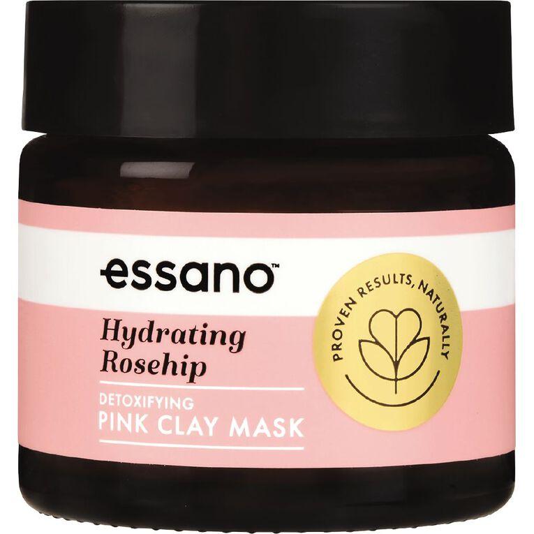 Essano Rosehip Hydrating Pink Clay Detoxifying Mask 50g, , hi-res