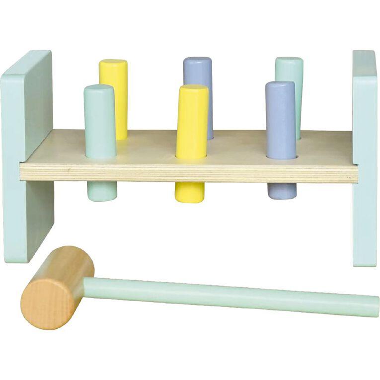 Play Studio Wooden Pound-A-Peg Set, , hi-res