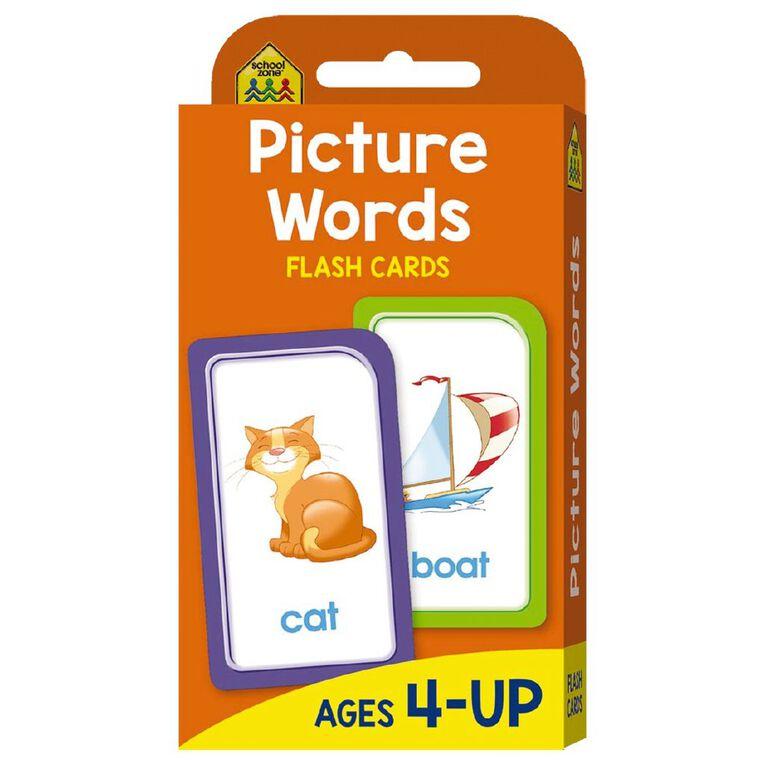 Hinkler School Zone Picture Words Flash Cards, , hi-res