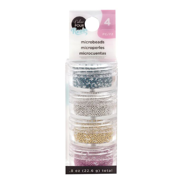 American Crafts Color Pour Mix-Ins  Microbeads 4 Pack, , hi-res