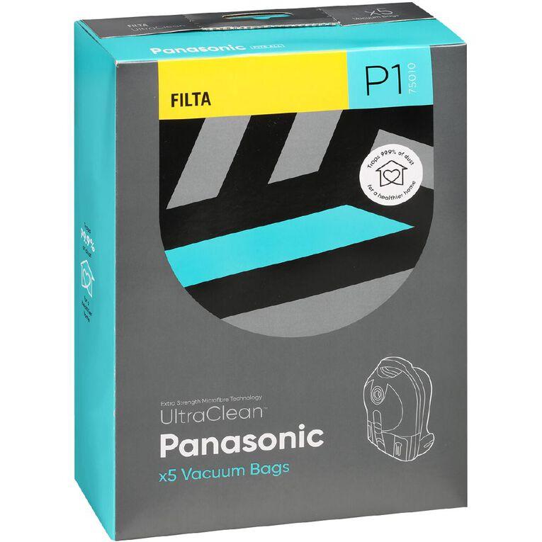 Ultra Clean Vacuum Bags For Panasonic 5 Pack, , hi-res