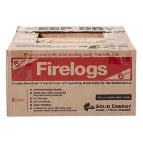 Solid Energy Firelog 6 Pack