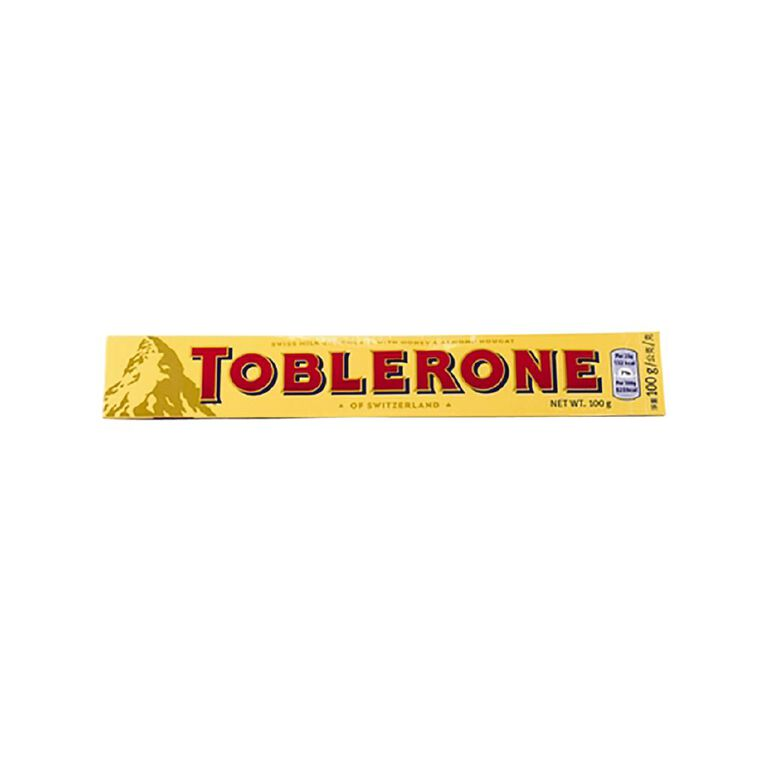 Toblerone Milk 100g, , hi-res