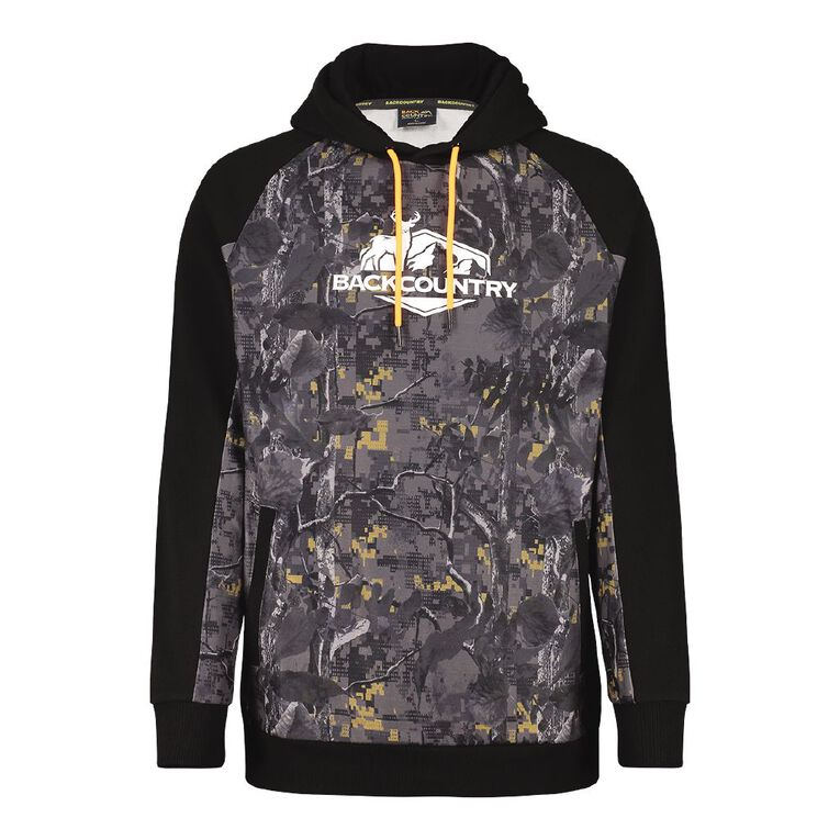 Back Country Pullover Hood Camo Print Sweatshirt, Slate, hi-res image number null