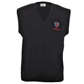 Schooltex Te Kura Taumata O Panguru Wool Vest with Embroidery