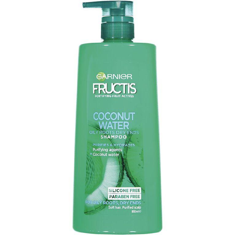 Garnier Fructis Coconut Water Shampoo 850ml, , hi-res