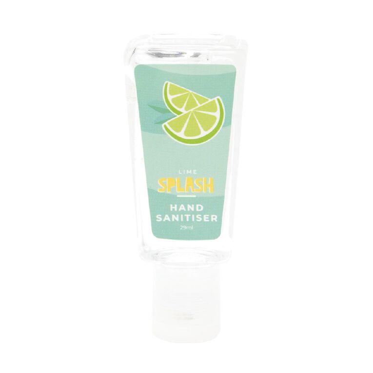 Hand Sanitiser Lime Splash Refill Bottle 29ml, , hi-res