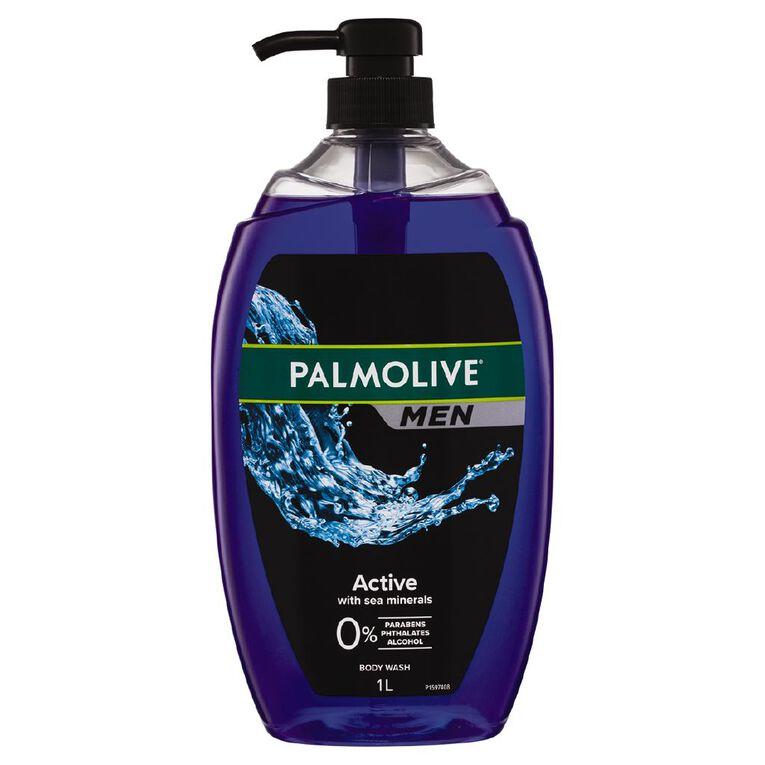 Palmolive for Men Body Wash 1L, , hi-res