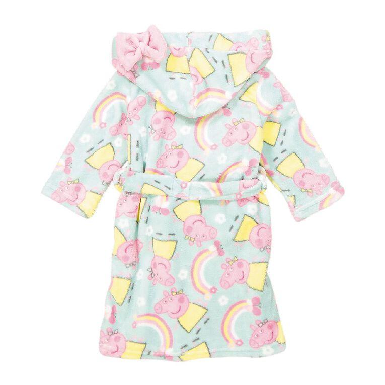 Peppa Pig Kids' Robe, Mint, hi-res