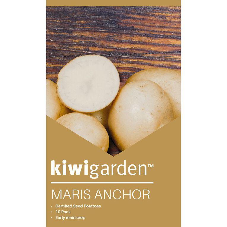 Kiwi Garden Seed Potato MARIS ANCHOR 10PK, , hi-res